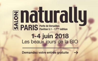 Naturally : un salon dédié au bio et au bien-être